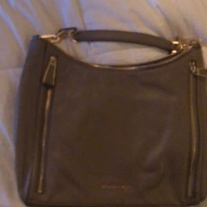 Beige and Gold Micheal Kors purse